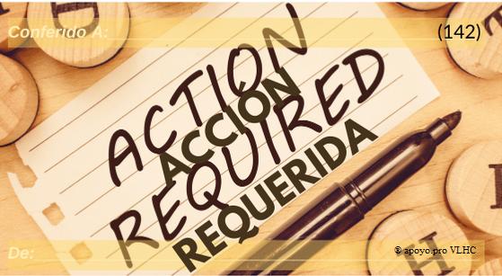 Acción requerida (142)