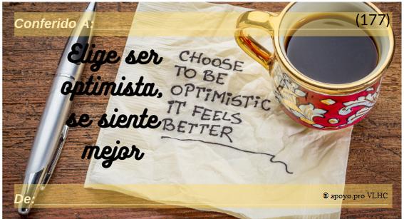 Elige ser optimista - Se siente mejor (177)