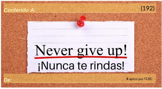 Nunca te rindas (192)