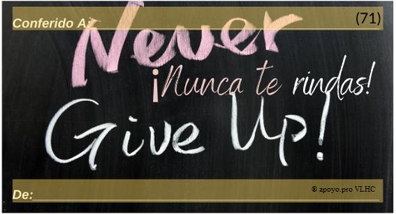 Nunca te rindas (71)