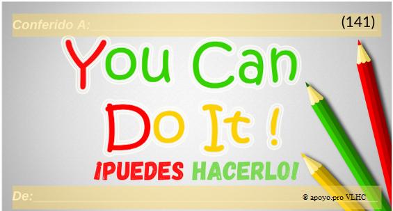 Puedes hacerlo (141)