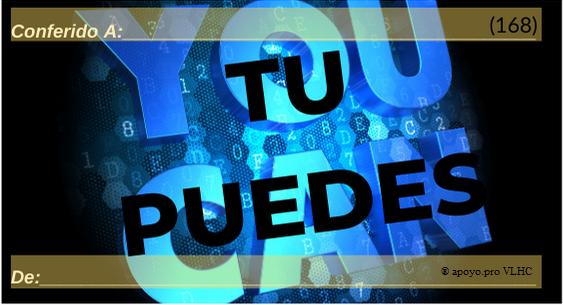 Tu puedes (168)